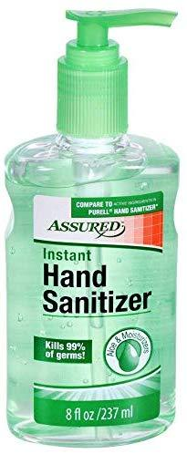 (3 Pack) Assured Hand Sanitizer with Aloe Vera and Moisturizers : Office Products