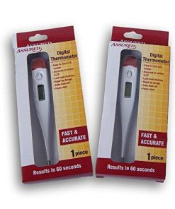 Digital Thermometer - Set of 2: Health & Personal Care