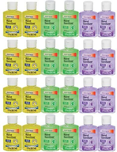 Instant Hand Sanitizer with Vitamin E and Moisturizers! 6 2oz Bottles