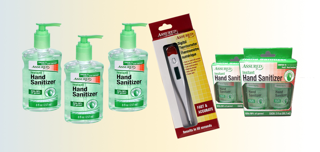 Hand Sanitizer with Aloe Vera and Moisturizers
