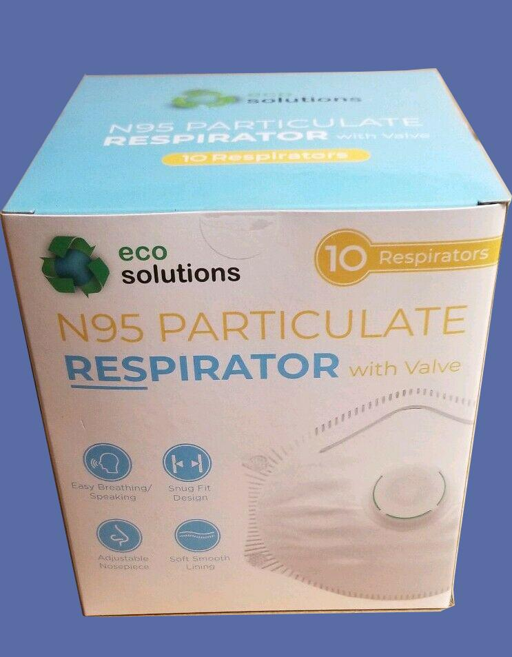 Eco Solutions N95 Particulate Respirator Mask with Valve