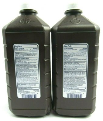 Hydrogen Peroxide 3% Topical Solution USP First Aid Antiseptic 2 PK of 32 FL OZ