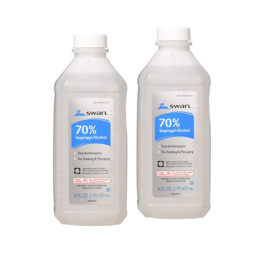 Isoprophyl Alcohol, 70% 16 oz (Pack of 2)–Free Fast Shipping!!