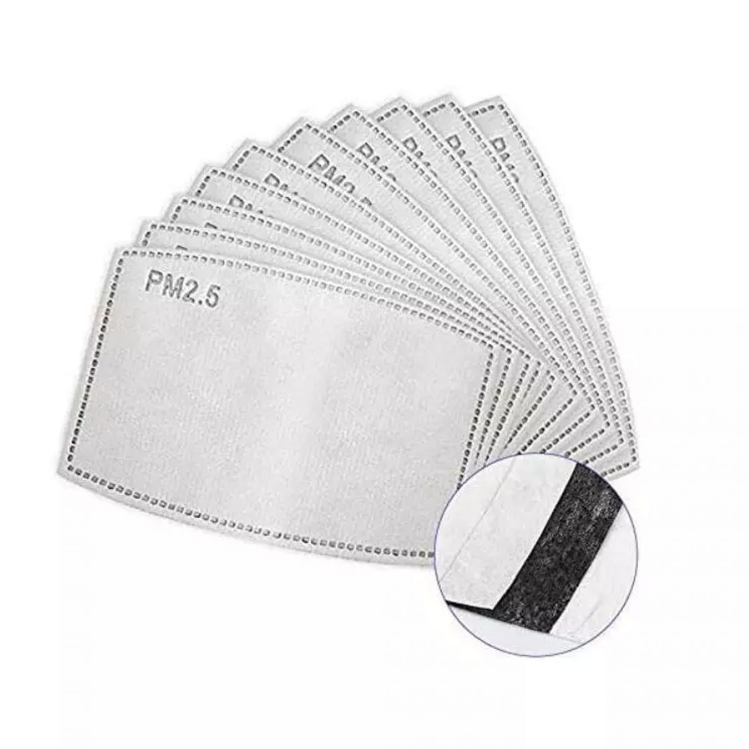 Kids Washable 2-Layer Protective Mask, 3-D Perfect Fit With PM 2.5 Filters, Individually Packed