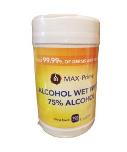 Max Prime Disinfecting Wipes 75% Alcohol 100 Ct